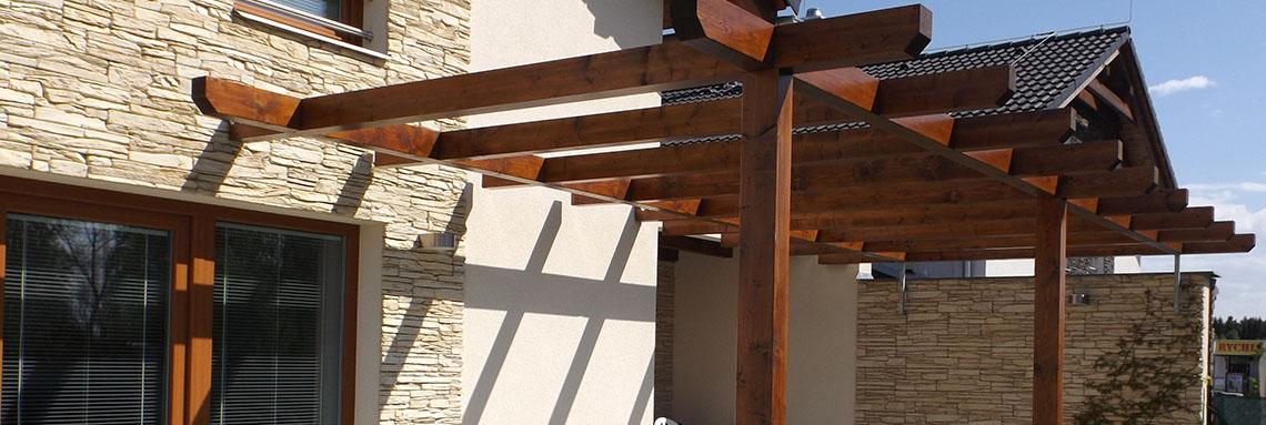 Dřevěné pergoly