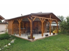 Dřevěná pergola PR