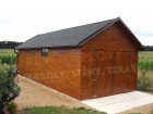 Dřevěný domek VAPNO