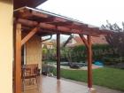 Dřevěná pergola VAS