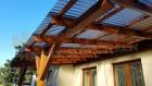 Dřevěná pergola PCE